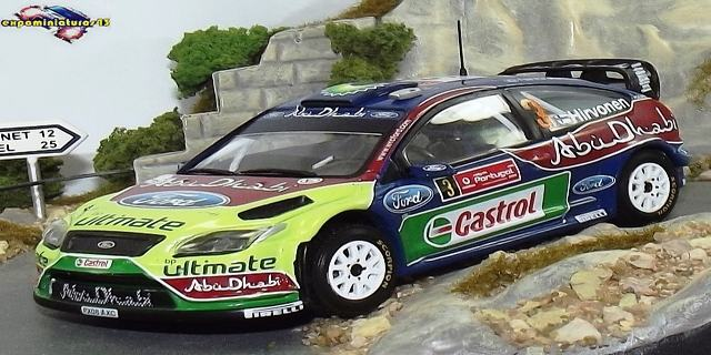 Rally Portugal 2009 Ford Focus WRC Hirvonen/Lehtinen 1/43
