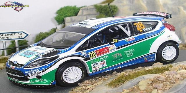 Rally Mexico 2010 Ford Fiesta S2000 Pons/Haro 1/43