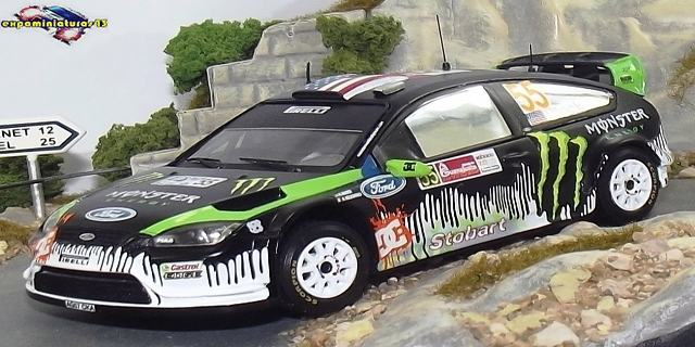 Rally de Mexico 2010 Ford Focus WRC Block/Gelsomino 1/43