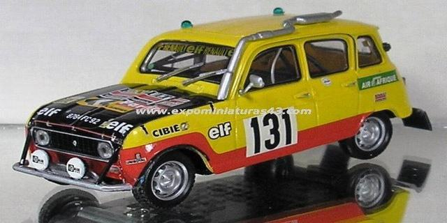 Dakar 1979 Renault 4 Simpar Marreau/Marreau 1/43