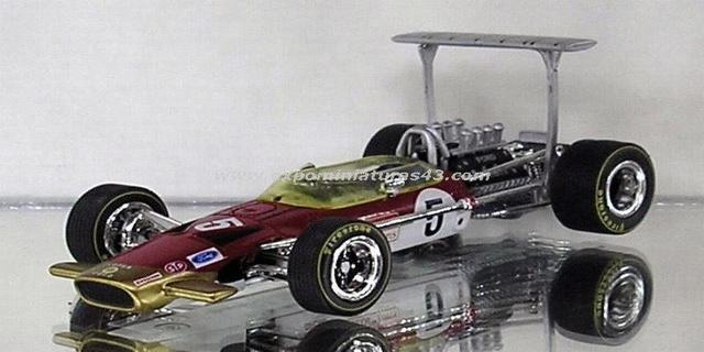 Formula 1 1968 Lotus 49B Graham Hill 1/43
