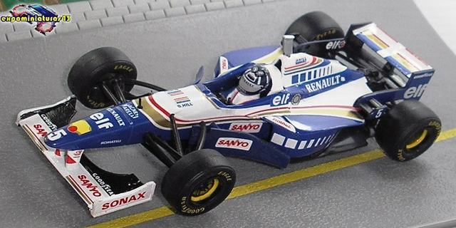 Formula 1 1996 Williams FW18 Damon Hill 1/43