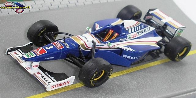 Formula 1 1997 Williams FW19 Jacques Villeneuve 1/43