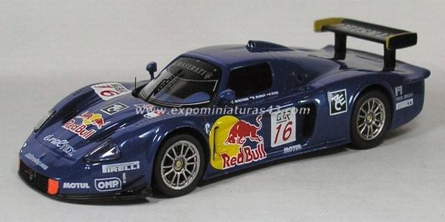 FIA GT 2005 Maserati MC12 Peter/Buncome/Rusinov 1/43