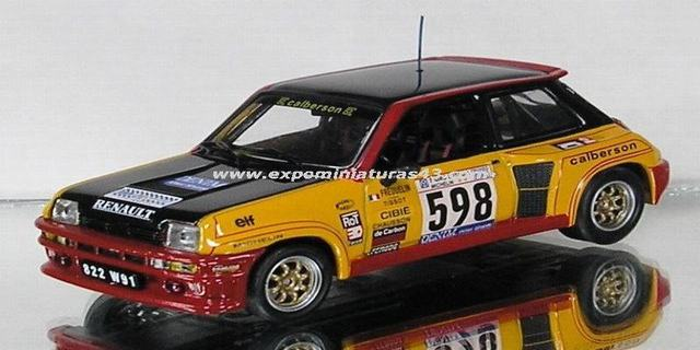 Giro D'Italia Automobile Renault 5 Turbo Guy Fréquelin 1/43