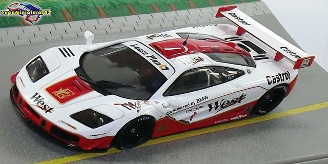 BPR Global GT Series 1996 McLaren F1 GTR Bscher/Kox 1/43