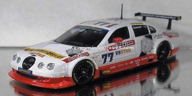 V8STAR 2002 JAG Racing Jaguar S-Type Christian Danner 1/43