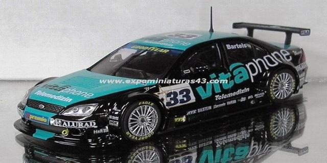 V8STAR 2003 MB Racing Performance Ford Mondeo Michael Bartels 1/43