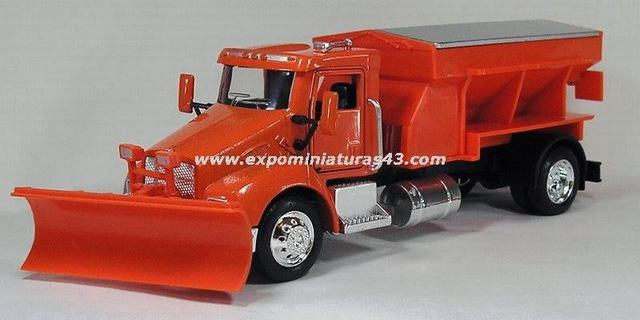 Kenworth T300 Class 6 Snow Plough 1/43