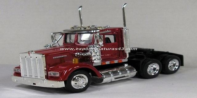 Kenworth W900 Day Cab 1/43