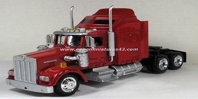 Kenworth W900 Extended Day Cab 1/43
